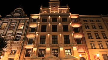 Hotel Rezydent Gdańsk Starówka Oświetlenie Zewnętrzne