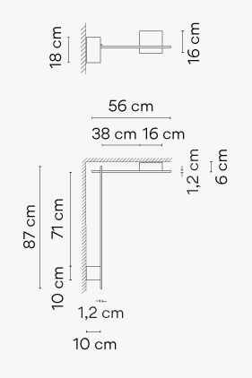 Vibia Structural Wall 2620